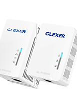 Powerline Networking GLEXER 500M PowerLine Extender And PowerLine Adapater(GL-PH500N-GL-PH500E)