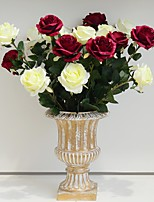 Hi-Q 1Pc Decorative Flowers Real Roses For Wedding Home Table Decoration Artificial Flowers