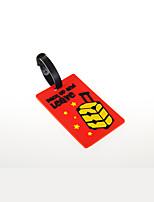 Travel Luggage Tag Luggage Accessory Plastic Blue / Red KUSHUN™ / BirdRoom®