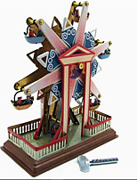 Novelty Toy  Stress Relievers  Puzzle Toy  Wind-up Toy Novelty Toy  Circular Windmill Metal Bronze For Kids
