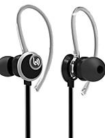 Beevo EM400 Stereo Sport Earphones with Detachable Ear Hook MIC Volume Control Running  Noise Reduction HIFI Headphone