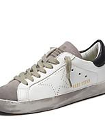 Men's Sneakers Summer Flats Satin Casual Flat Heel Lace-up Black / Blue / Gray