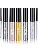 Eyeliner Crayons Lueur Longue Durée / Etanches / Naturel / Séchage rapide Gris / Doré / Argenté / Ivoire / Café Yeux 1 1 PAYS DE COULEUR