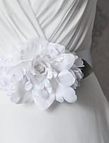 Satin Bryllup / Fest/aften / Hverdag Sash-Blomster / Flæser Dame 98.5 tommer (ca. 250cm) Blomster / Flæser