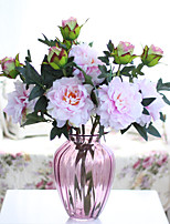 Hi-Q 1Pc Decorative Flowers Peonies Wedding  Home Table Decoration Artificial Flowers