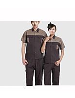 установить с короткими рукавами комбинезон лето, техника Aftermarket защитную одежду, хлопок