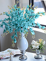 Hi-Q 1Pc Decorative Flower Orchids Wedding Home Table Decoration Artificial Flowers