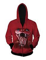 Inspiré par Assassin's Creed Goku Anime Costumes de cosplay Tops Cosplay / Bas Imprimé Rose Manche Longues Manteau / Top / Mancherons
