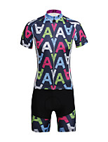 PaladinSport Women  Cycyling Jersey + Shorts Suit DT651  Cool A