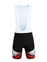 PALADIN® Cycling Bib Shorts Men'sBreathable / Quick Dry / Windproof / Anatomic Design / Ultraviolet Resistant / Insulated / Moisture