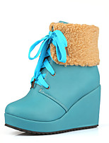 Women's Shoes   Wedges / Platform / Fashion Boots Boots Outdoor / Office & Career / Casual Wedge Heel  &H-1