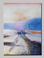 Hand Painted Modern Abstract Oil Paintings On Canvas Wall Art Picture With Stretched Frame Ready To Hang 75x100cm