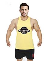 Running Tops / Vest / Shirt / Sweatshirt / Tank Men's SleevelessBreathable / Sweat-wicking / Softness / Held-In