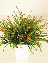 Hi-Q 1Pc Decorative Flowers Aquatic Plant Wedding  Home Table Decoration Artificial Flowers