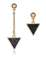 Boucle Forme Géométrique / Forme de Triangle Bijoux 1 paire Mode / Style Punk / Personnalité Mariage / Soirée / Quotidien / Décontracté