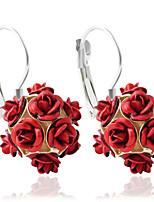 Alloy Earring Hoop Earrings Wedding/Party/Daily / Casual 1 pair