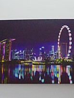 LED Canvas Print,Singapore