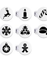 8 Horneando Ecológico / Nueva llegada / decoración de pasteles / Alta calidad Pastel / Galleta Plástico Moldes para horno