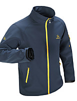 Outdoor Men's Softshell Jacket Camping & Hiking Waterproof / Quick Dry / Windproof / Sunscreen / Thermal / Warm