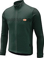 Sports Bike/Cycling Tops Men's Long Sleeve Breathable / Front Zipper / Wearable / Ultra Light Fabric / Therma