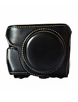 GF8 Camera Case (Crazy Horse Leather) For Panasonic GF8 (Black/Brown/Coffee)