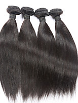 4 pieces Brazilian virgin straight hair remy eunice hair products 100% human hair weaves