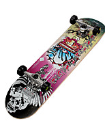 Classic Skateboard(70*42mm) Pink/Yellow