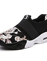 Men's Sneakers Fabric Casual Flat Heel Slip-on Black / Blue Running EU39-43