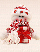 1pc Gift Snowman Pendant Christmas Tree Charms Decoration Home Outdoor Festival Party Supplies