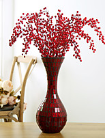 Hi-Q 1Pc Decorative Flower Red Fruits Wedding Home Table Decoration Artificial Flowers