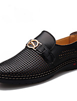 Men's Flats Summer Round Toe / Flats Leather Outdoor / Office & Career / Casual Flat Heel Others
