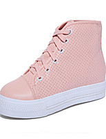 Women's Shoes Fabric Spring / Summer / Fall / Winter Comfort Sneakers Outdoor / Athletic Platform Lace-up