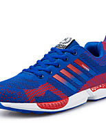 Men's Sneakers Spring / Fall Flats Fabric / Tulle Outdoor / Casual Flat Heel  Black / Blue / Gray / Royal Blue Others