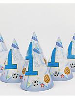 Geburtstag Party Zubehör 1Stück / Set Mützen Hartkartonpapier rustikales Theme Other Nicht-individualisiert Mehrfarbig