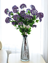 Hi-Q 1Pc Decorative Flowers Real For Wedding Home Table Decoration Hydrangeas Artificial Flowers