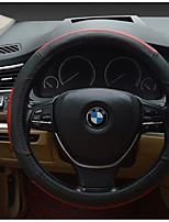 Leather Steering Wheel Cover To Cover Nontoxic, Odorless Sweat Slip Feel Comfortable