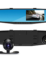 Driving Recorder Before And After The Double Lens HD Recorder New High-End 4.3 Inch Screen Rear View Mirror