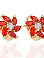 1 pair/Red/Blue/White/BlackStud Earrings for women