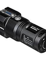 Lampes Torches LED LED 5 Mode 4000 Lumens Etanche / Rechargeable / Taille Compacte / Ultra léger / dengan tripod Cree XM-L T618650 /