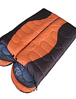 Sleeping Bag Rectangular Bag Single 0°~18° Hollow Cotton 1300g 180X75 Camping  Traveling IndoorWaterproof  Windproof