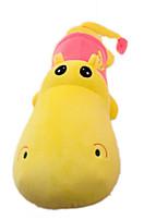 супер мило мультфильм бегемот длинная подушка творческий плюшевые игрушки