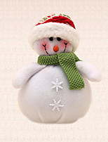 1pc Christmas Tree Decoration Green Scarf Snowman Tree Hanging Pendant Xmas Party Supplies