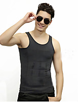 Men's Solid Casual / Sport Tank Tops,Nylon Sleeveless-Black / Blue / Purple / Gray