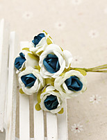 Hi-Q 1Pc Decorative Flower Hand Bouquet Roses Wedding Home Table Decoration Artificial Flowers