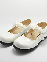 Girl's Flats Spring / Summer / Fall / Winter Comfort Leatherette Athletic / Casual Flat Heel Others White Others