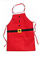 1pc Kitchen Accessories Cooking Christmas Aprons Decoration Xmas for Women Kid Apron Ornament Holiday