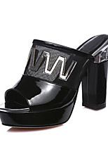 Women's Sandals Spring / Fall / Winter Heels / Platform / Shoes & Matching Bags / Novelty Leather / LatexWedding /
