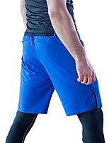 Running Crop Men's Breathable / Lightweight Materials / Comfortable Polyester Running Sports Stretchy Slim