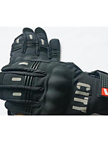 Off-Road Motorcycle Racing Gloves Knight Riding Motorcycle Gloves Full Finger Touch Gloves, Reflective Night