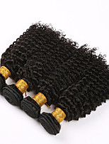 Brazilian Afro Kinky Curly Hair 4 Bundles Unprocessed Brazilian Kinky Curly Virgin Hair deep curly Human Hair Weave